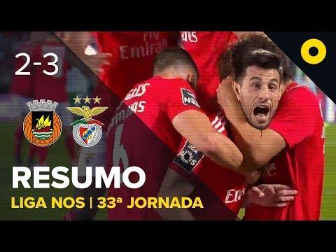 Rio Ave 2-3 Benfica - Resumo | SPORT TV