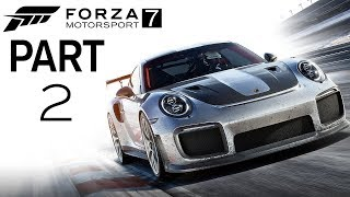 """Forza motorsport 7 - let's play - part 2  - """"modern hot hatch (ford focus rs)"""""""