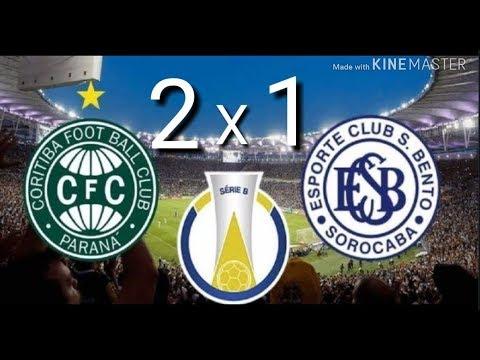 Coritiba 2 x 1 São Bento   Gols Melhores momentos  Campeonato Brasileiro Serie B  16 07 2019