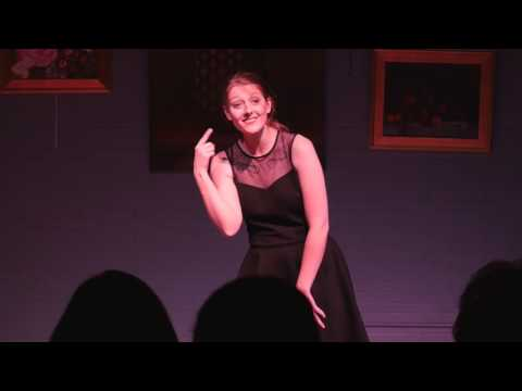 Hali Pinson performing Happily Ever After (Once Upon a Mattress)