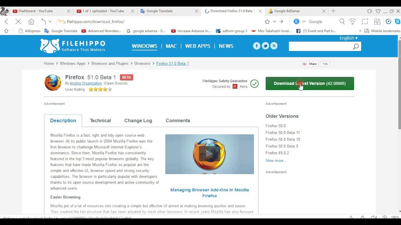 Firefox 51.0