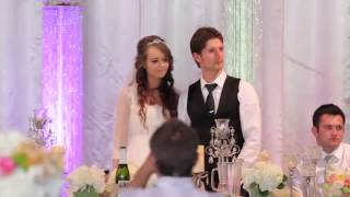Папа нереально красиво поет дочке на свадьбе!!!