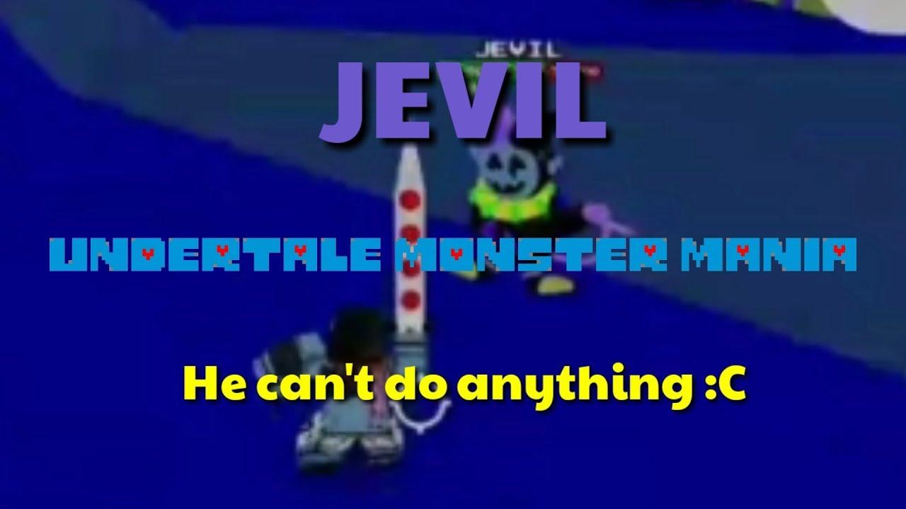 Jevil (Undertale Monster Mania)