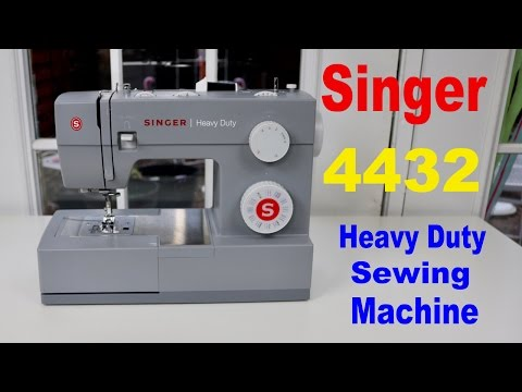 😍 SINGER  ❤️   4432  Heavy Duty Sewing Machine  - Review ✅