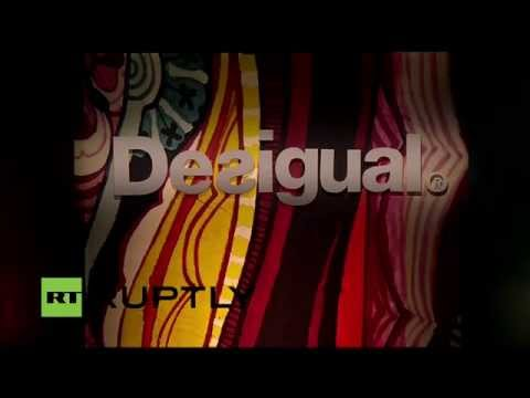 DESIGUAL: Mercedes-Benz Fashion Week Madrid Full Show Fall Winter 2015 2016 (invierno)