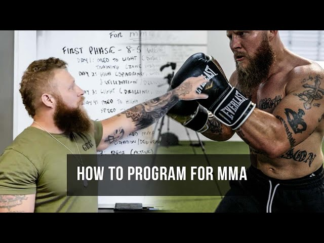 How to Program for in Camp MMA | Phil Daru