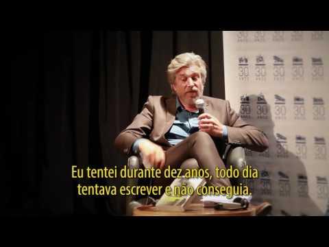 Encontro com Karl Ove Knausgård em São Paulo