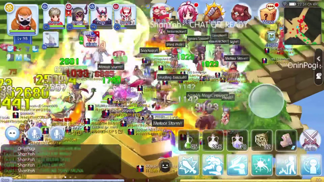 Ragnarok Mobile - GvG - War of Crystal