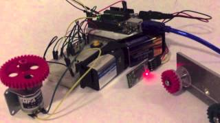 Arduino Curtain Opener Prototype Demo Kieran Scott