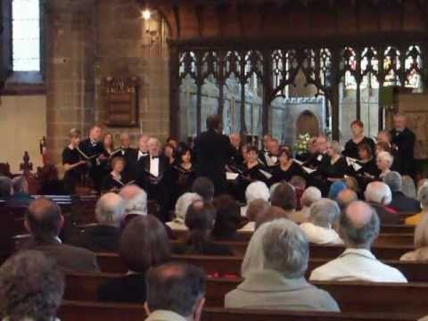 Guelph Choir from Canada - Buxton Festival Fringe at Tideswell