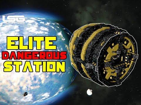 Space Engineers - Elite Dangerous Style Musk Station  