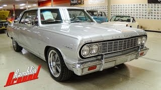 1964 Chevrolet Malibu SS Hotchkis Suspension Baer Brakes - Nicely Restored