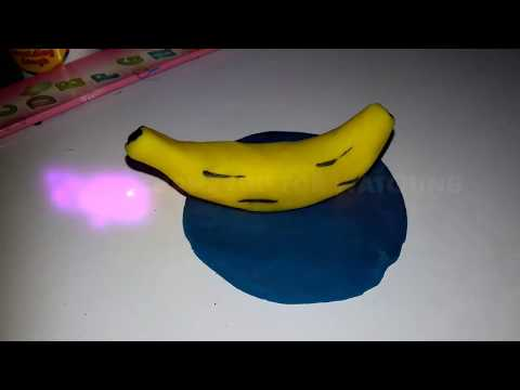 HOW TO MAKE BANANA WITH CLAY FOR COMPETITION CLASS 1,2