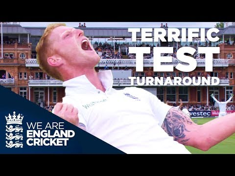 England Complete One Of The Great Test Match Turnarounds v N