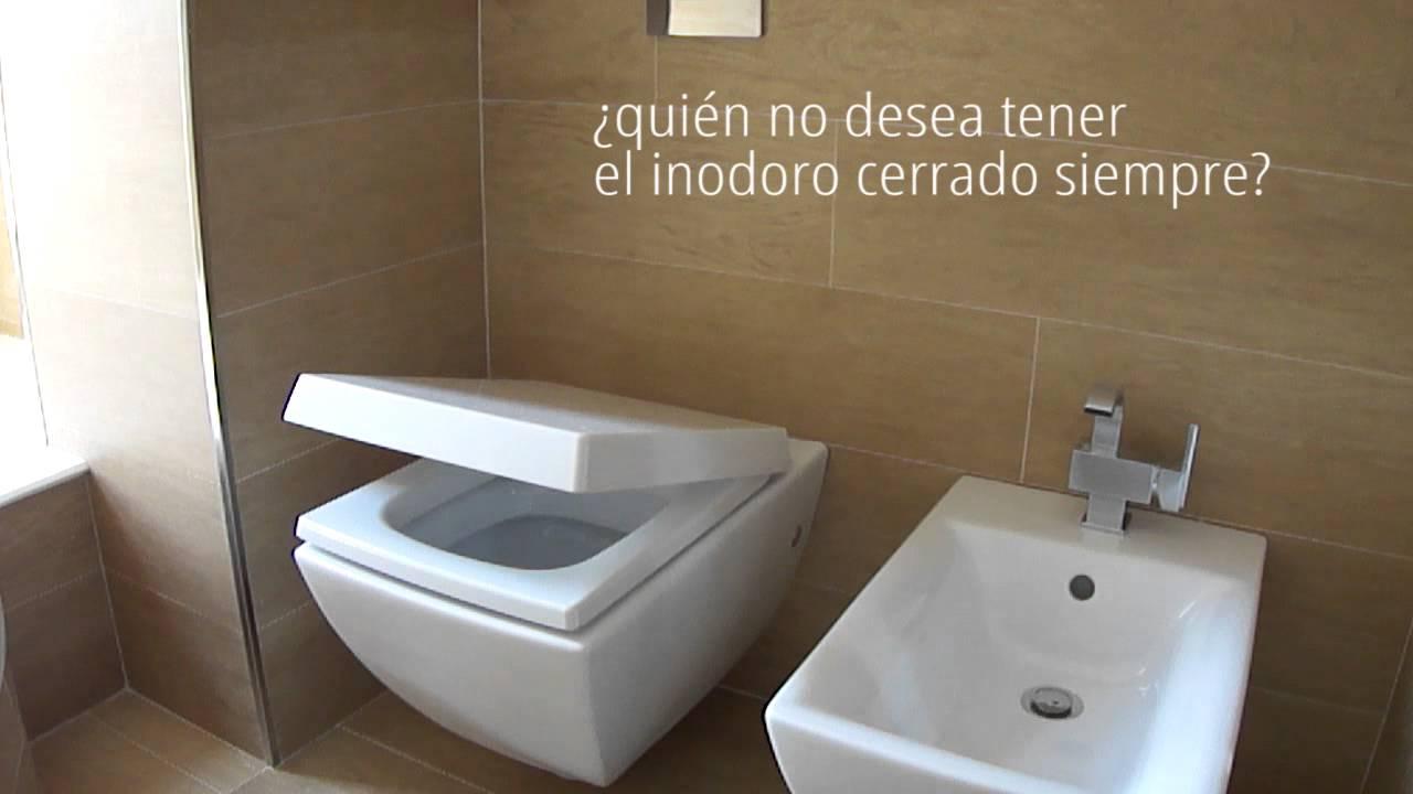 Inodoro Para Baño Pequeno:Inodoro con tapa caída amortiguada – WC cierre tapa amortiguada