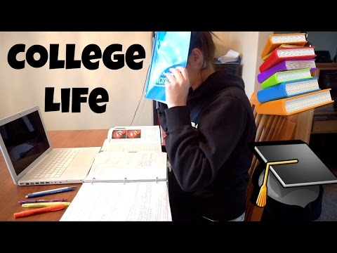 A DAY IN THE LIFE OF A COLLEGE STUDENT