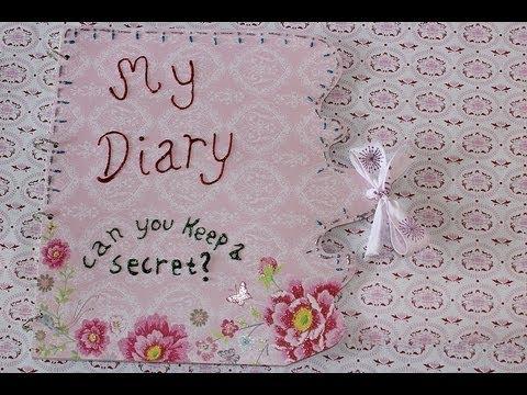 Diy Diary Or Book Youtube