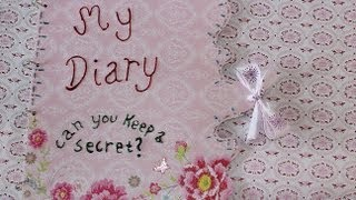 DIY Diary Or Book