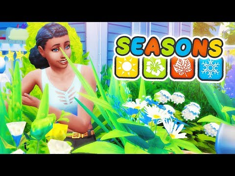 OPEN FOR BUSINESS ?? // The Sims 4: Seasons #4 thumbnail