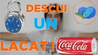 Cum sa Descui un Lacat cu ajutorul unei doze de Coca-Cola