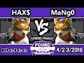Pound 2016 - Hax (Fox) Vs. Mango (Fox) - Losers Finals - SSBM