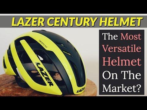 2019 LAZER Century Cycling Helmet Test & Review HD