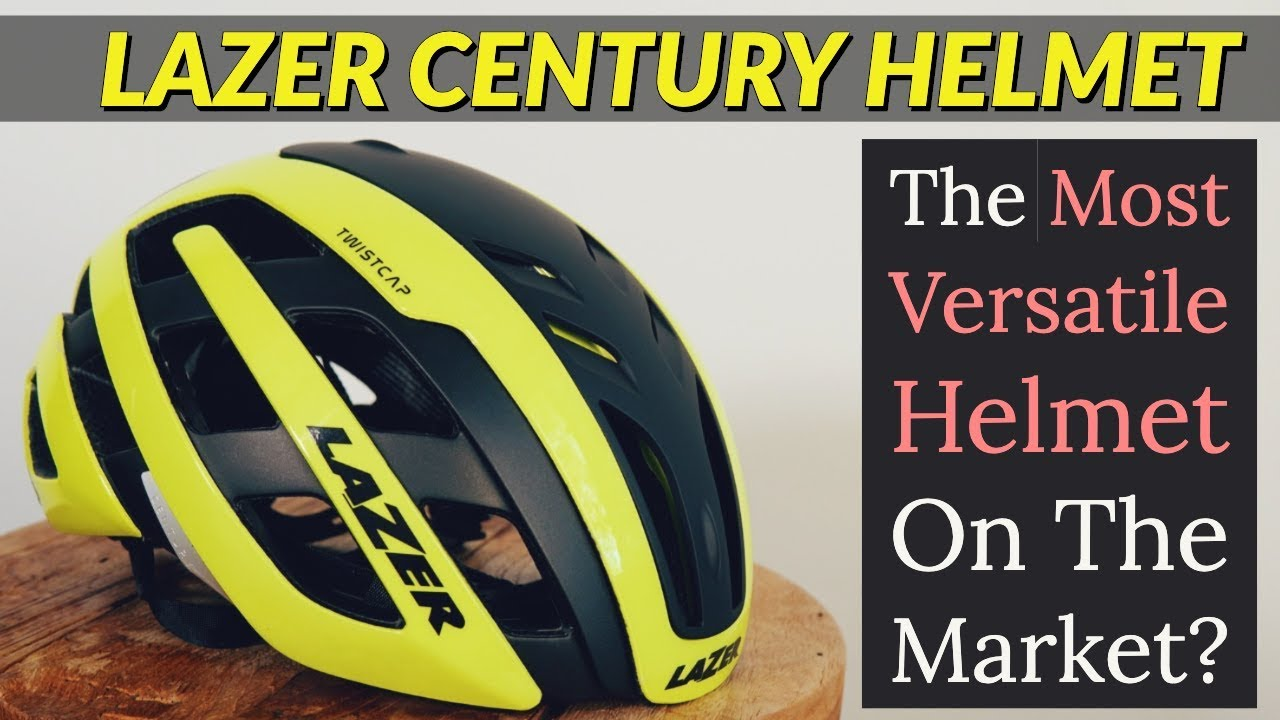 2019 Lazer Century Cycling Helmet Test Review Hd Youtube