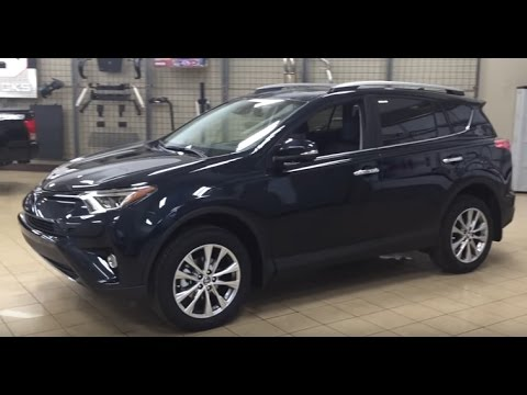2017 Toyota Rav4 Limited Review You