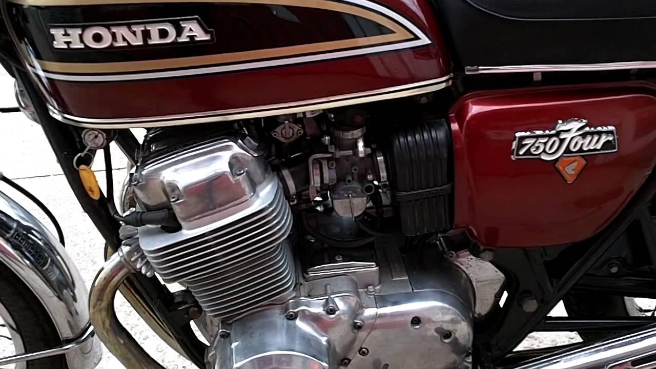 Honda CB750 1976 Red
