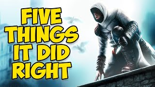 5 Things Assassins Creed 1 Did Right