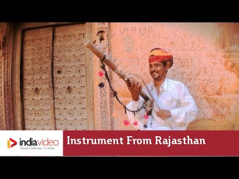 Ravanhatta: a Rajasthani folk musical instrument