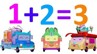 Funny Car Babies -  Learn Numbers - Learn Counting Numbers - Learn Numbers For Kids
