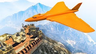 SECRET MOUNT CHILIAD BUNKER! (GTA 5 Doomsday Heists DLC)