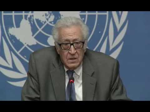 Syria  :  Lakhdar Brahimi,  Press Conference (Geneva, 25 January 2014)