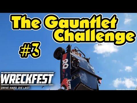 The Gauntlet Challenge Part3! Wreckfest Multiplayer