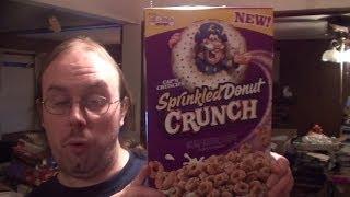 Cap'n Crunch Sprinkled Donut Crunch Taste Test