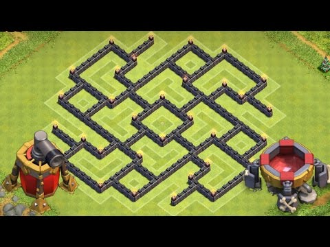 Clash Of Clans | BEST Town Hall 8 (TH8) Farming Base Strategy! Epic Farming Defense!