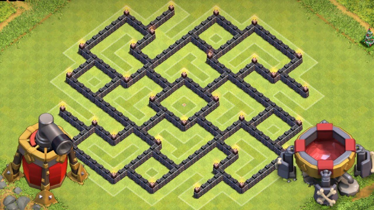 Strategi Base Coc Th 8 6