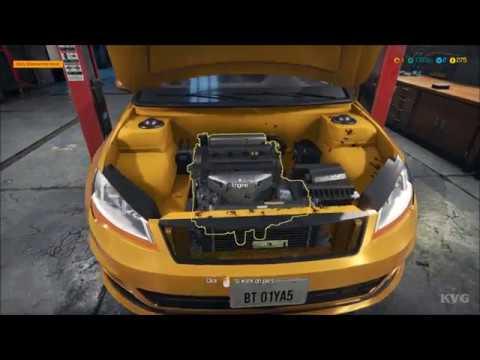 car mechanic simulator 2018 changing tires oil. Black Bedroom Furniture Sets. Home Design Ideas