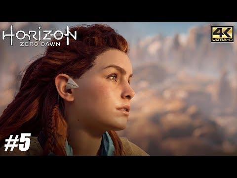 Horizon Zero Dawn - PS4 Pro Gameplay Playthrough 4K 2160p - PART 5