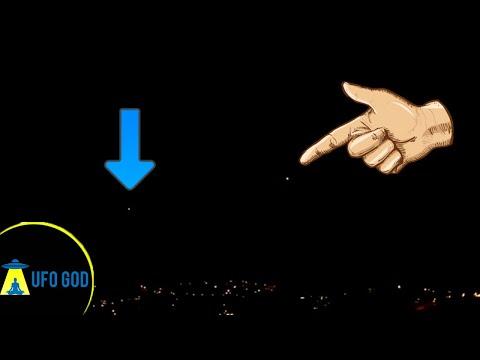 UFO sighting BRATISLAVA  SLOVAKIA | Real UFO (The UFO God)