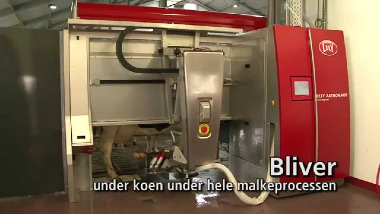Lely Astronaut A4 - Milking robot arm (Danish)