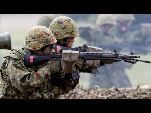Japan activates first marine units since WW2
