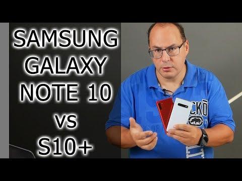 СРАВНЕНИЕ | Samsung Galaxy Note 10 и S10+