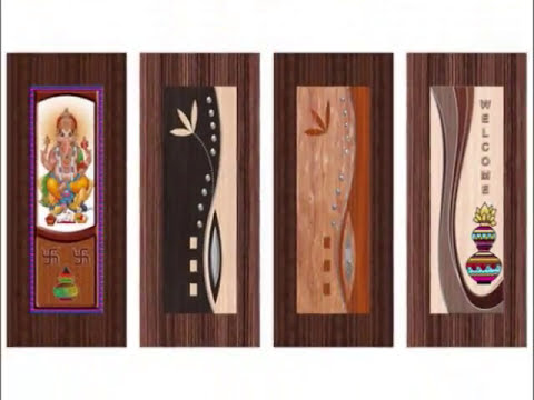 Flush Door Design Paper Print Door Paper Print Om Sairam Door  sc 1 st  YouTube : door paper - pezcame.com