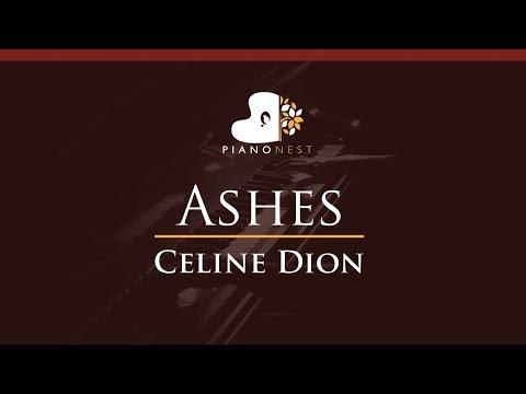 Celine Dion - Ashes - HIGHER Key (Piano Karaoke / Sing Along)