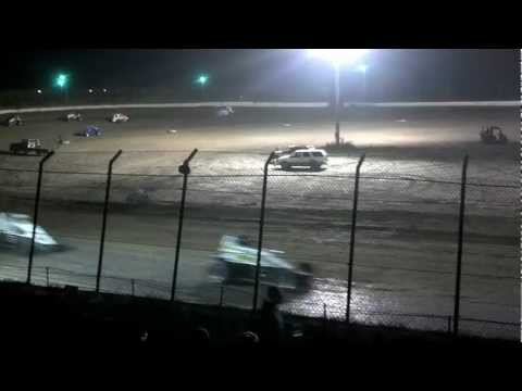Tyler Shoemaker - A Main (Part 1 of 2) - Clay County Speedway - 9/15/12