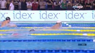 Florent MANAUDOU 50m brasse monsieur championnat de France de natation 25m/2014