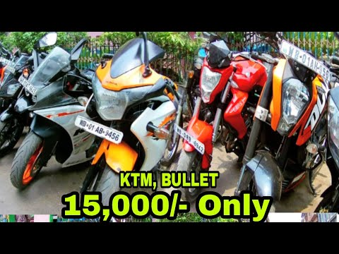 Cheap Second Hand Bike Market - KOLKATA | KTM DUKE 200 $15000/- Only