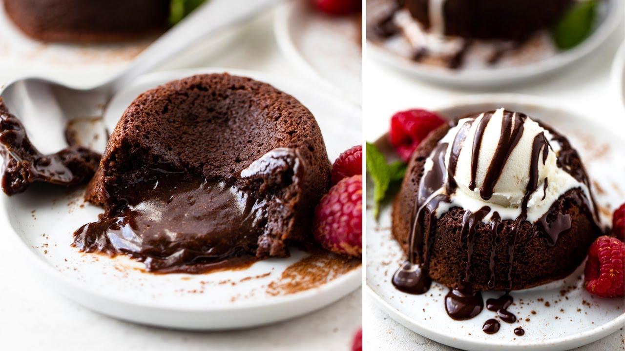 Easy Chocolate Molten Lava Cakes Gimme Delicious